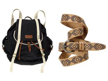 В коллекцию Wrangler весна-лето 2012 вошли сумки, шарфы и ремни