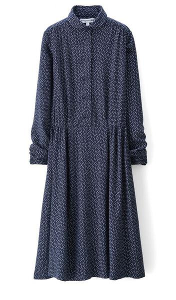 Платье Ines de la Fressange Paris – Uniqlo осень-2015