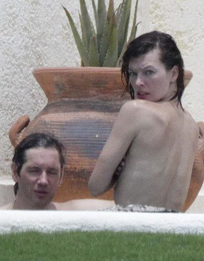 Мила Йовович (Milla Jovovich) и Пол Андерсон (Paul Andersen)