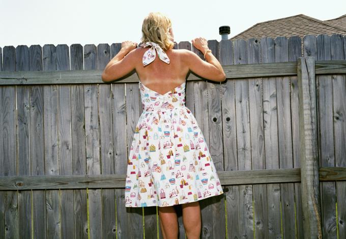 Женщина, вид со спины