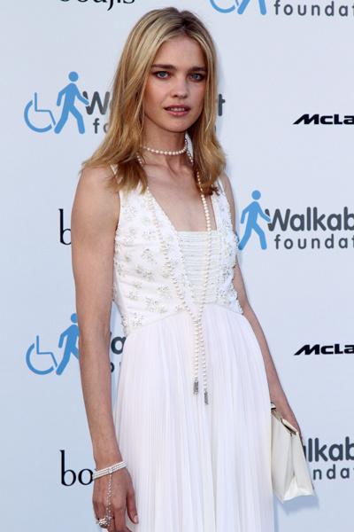 Наталья Водянова на благотворительном вечере в Лондоне