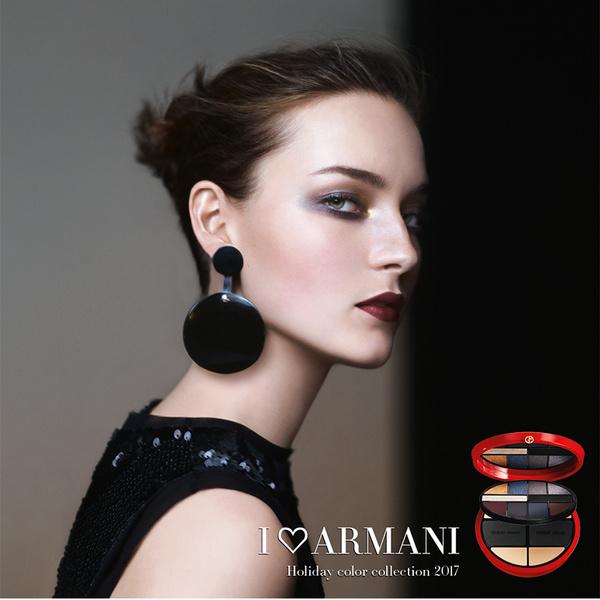 Рождественская коллекция макияжа Giorgio Armani Holiday 2017