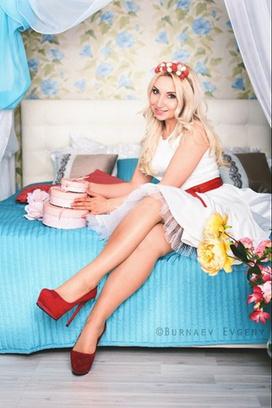 самые красивые блондинки Самары Ирина Михайлова