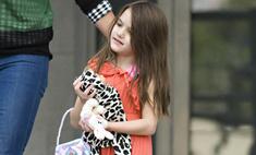 Сури Круз названа самым стильным ребенком знаменитостей