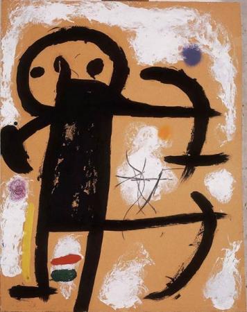 Хуан Миро, Без названия, 1978