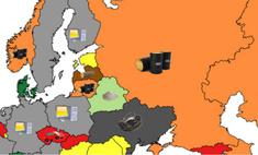карта главный продукт экспорта разных стран