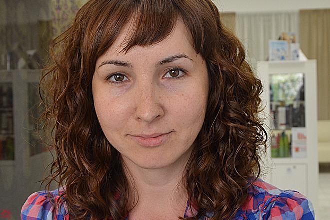 Екатерина Карасева, макияж до и после, фото