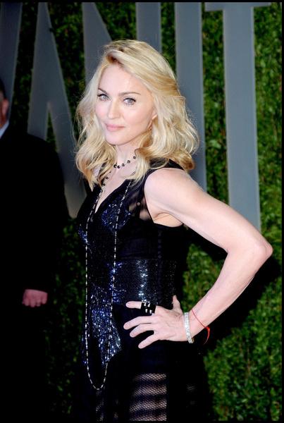 Мадонна на вечеринке журнала Vanity Fair
