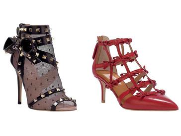 Обувь из капсульной коллекции Timestrings от Valentino выполнена вручную