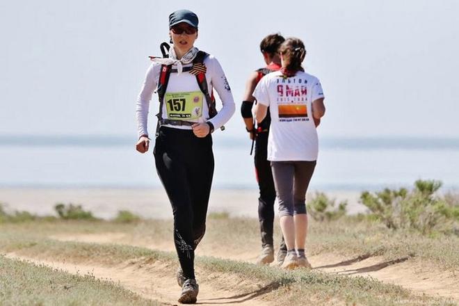 Волгоград, Марафон пустынных степей, ультра трейл, забег, спорт, Эльтон, марафон на Эльтоне, соленое озеро, экстремальный спорт