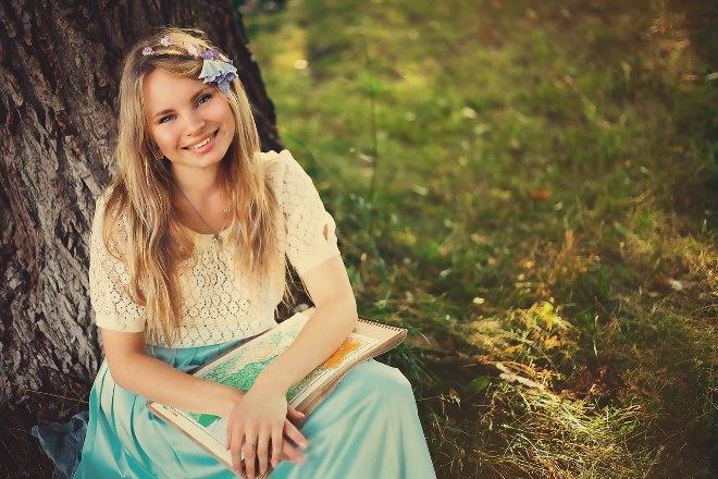 Анастасия и сама похожа на сказочную героиню