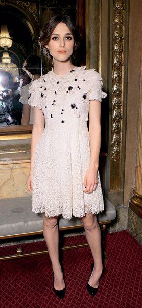 Кира Найтли в платье Erdem, 2007 год