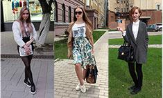 Street Style: 18 стильных девушек Саратова. Выбери лучший образ мая!