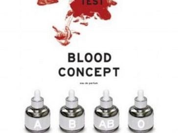 Парфюм представлен в четырех основных ароматах - в соответствии с количеством основных групп крови