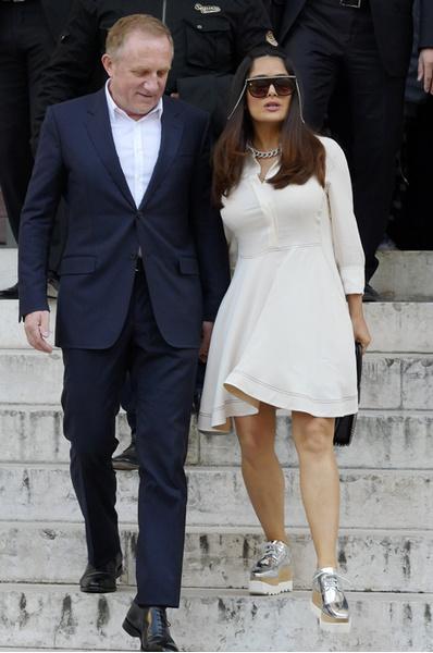Сальма Хайек и Франсуа-Анри Пино