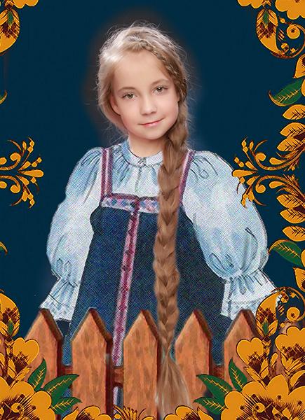 Дарья Корикова, «Уральская краса – русская коса», фото