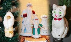 В Волгограде открылась выставка елочных игрушек прошлого века