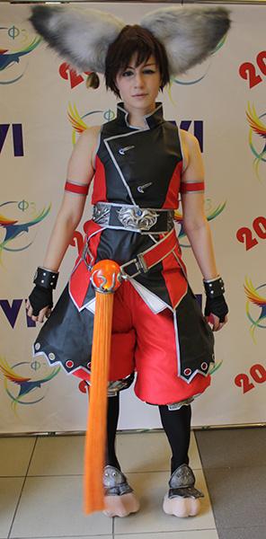 Представитель расы Лин из игры Blade&Soul, фестиваль фэнтези и фантастики