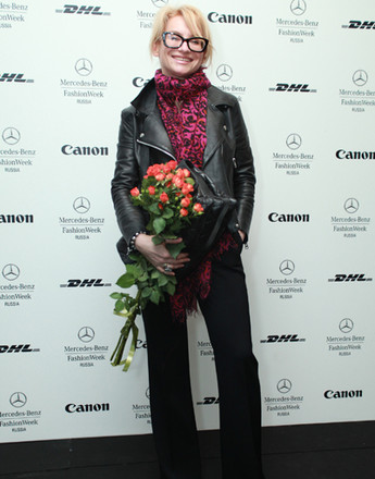 Эвелина Хромченко на Mercedes-Benz Fashion Week Russia