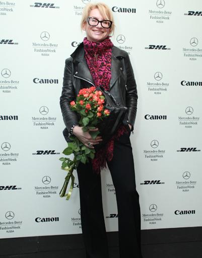 Эвелина Хромченко на Mercedes-Benz Fashion Week Russia