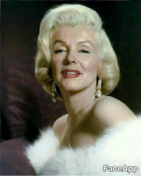 легендарные красавицы в старости Мэрилин Монро