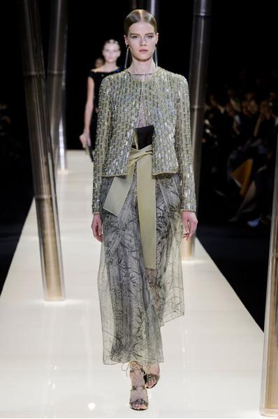 На Неделе высокой моды в Париже прошел юбилейный показ Giorgio Armani Prive | галерея [1] фото [4]