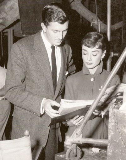 Юбер Живанши (Hubert de Givenchy) и Одри Хепберн (Audrey Hepburn)