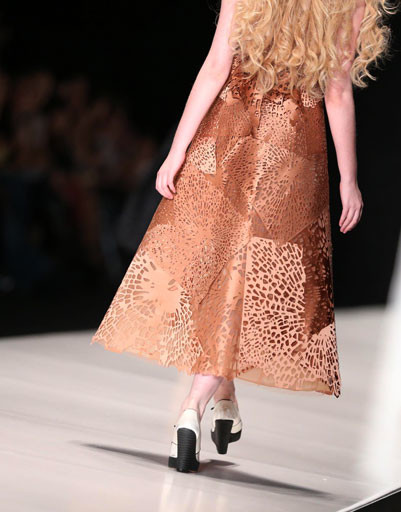 Коллекция Giles сезона весна-лето 2013 на Неделе моды Mercedes-Benz Fashion Week