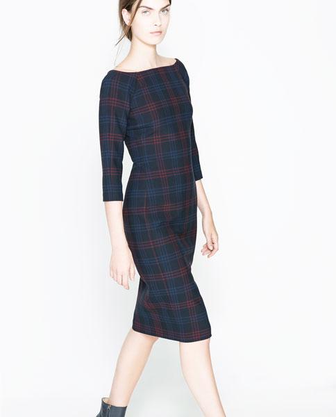 Блог моды: Платье на корпоратив: стильных вариантов. Тартан Платье