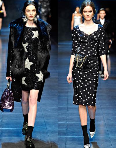 Dolce & Gabbana, осень-зима 2011/2012