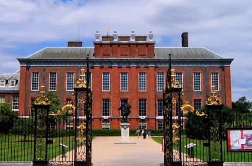 Кенсингтонский дворец, принц Уильям, принцесса Диана, Кейт Миддлтон