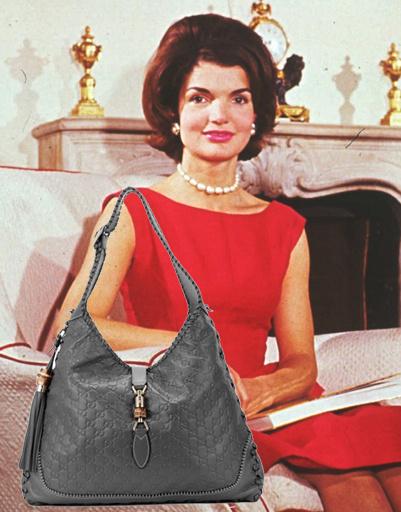 Жаклин Кеннеди Онассис (Jackline Kennedy Onassis), сумка Gucci