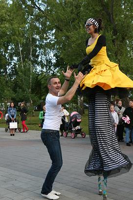 Фестиваль Сны улиц 2014 Тюмень День города