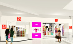 UNIQLO открывает первый магазин в России