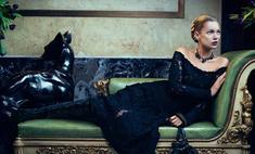 Русская готика: Кейт Мосс в рекламе Salvatore Ferragamo