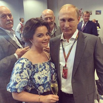 """Формула 1"" в Сочи: Наташа Королева, Владимир Путин"
