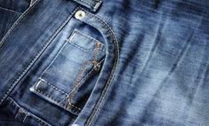 Эффективно удаляем клей с джинсов