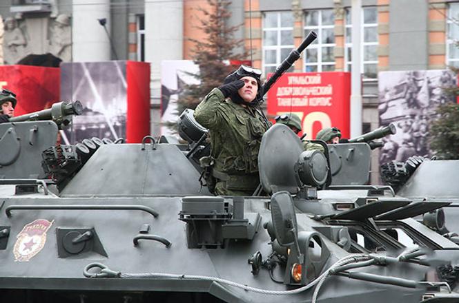 День победы в Екатеринбурге, фото