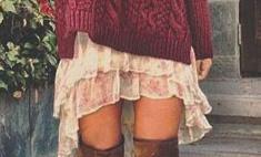 На выход: как носить oversize-свитер весной