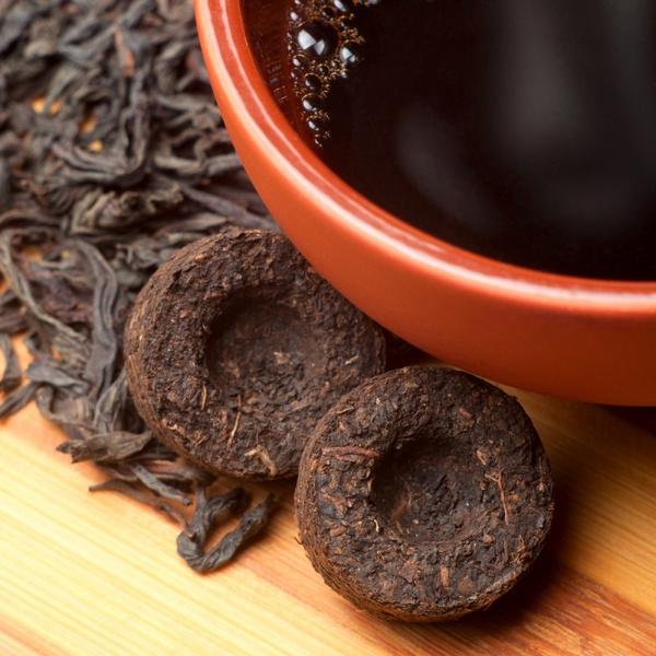 Как заваривать китайский чай пуэр в таблетках. Видео
