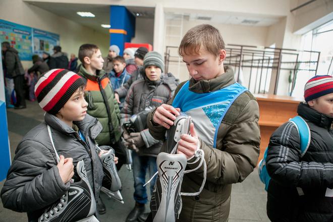Илья Авербух провел мастер-класс для детей в Томске