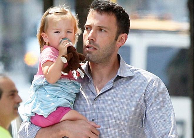 Бен Аффлек с дочерью