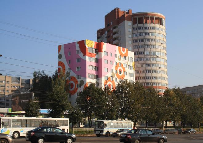 Комсомольская площадь станет яркой