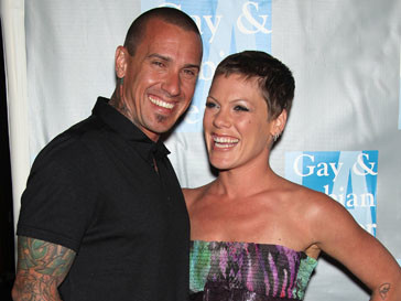 Пинк (Pink) и Кэри Харт (Carey Hart)