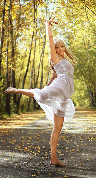 Новокузнецк, танец, девушка