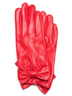 Красные перчатки, Mango, очень-зима 2011/12