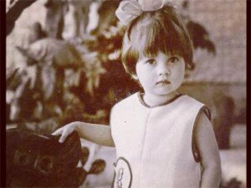 Детское фото Виктории Бони.