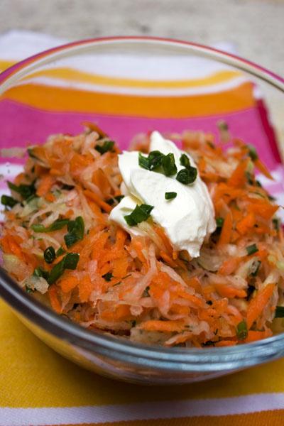 рецепт салата из репы