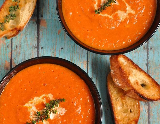 суп из консервированных томатов в собственном соку рецепт
