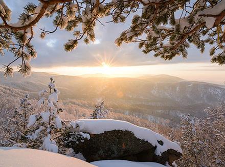 Зимние каникулы в Алтайском крае